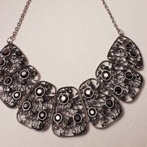 Jewelry - Silver Bib Necklace
